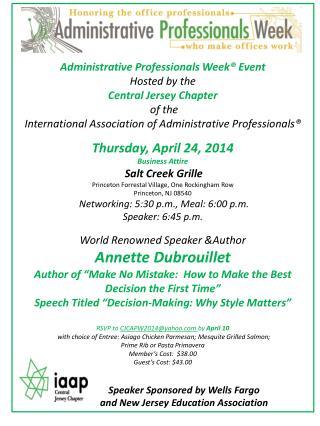 APW invite