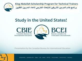 Study in the United States!