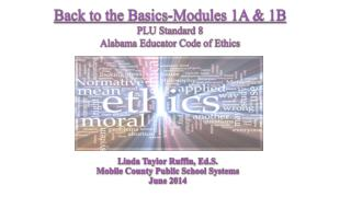 Linda Taylor Ruffin,  Ed.S . Mobile County Public School Systems June 2014