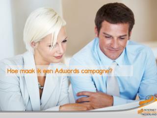 Hoe maak ik een Adwords  campagne?