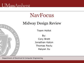 NavFocus Midway Design Review