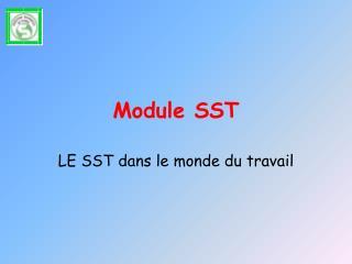 Module SST