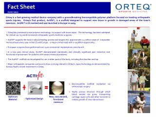 Fact Sheet June 2012