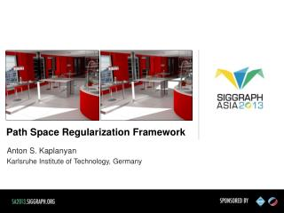 Path Space Regularization Framework