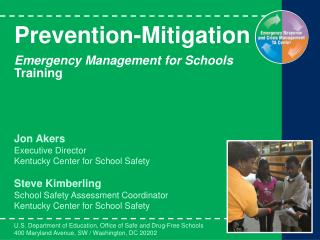 Prevention-Mitigation  Emergency Management for Schools Training