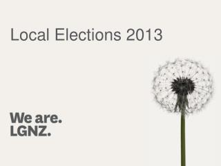 Local Elections 2013