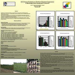 2010 Product Evaluation for Reniform Nematode Suppression