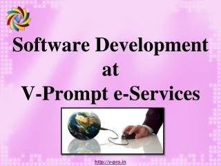 Software Development at V-Prompt e-Services