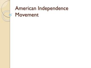 American Independence Movement