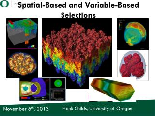 Spatial-Based and Variable-Based Selections