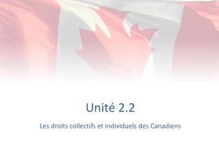 Unité 2.2