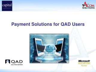 Payment Solutions for QAD Users
