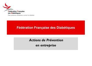 Fédération Française des Diabétiques