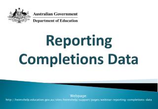Reporting Completions Data