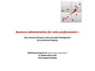 Business  administration for sales professionals –
