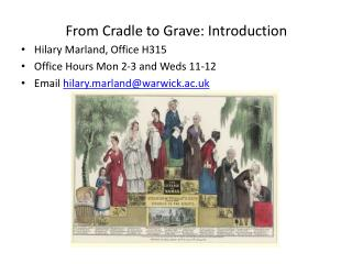 From Cradle to Grave: Introduction