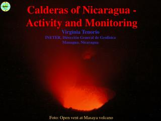Calderas of Nicaragua - Activity and Monitoring