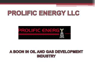 Prolific Energy LLC