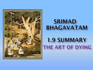 Srimad bhagavataM 1.9 Summary