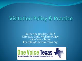 Visitation Policy & Practice