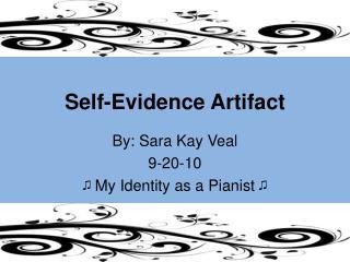 Self-Evidence Artifact