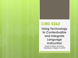 CIED 5262