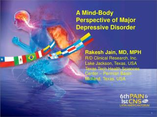 A Mind-Body  Perspective of Major Depressive Disorder