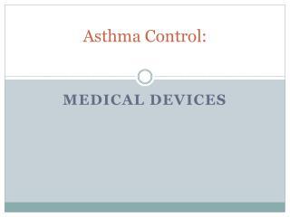 Asthma Control: