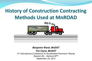 History of Construction Contracting Methods Used at MnROAD