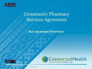 Community Pharmacy  Services Agreement