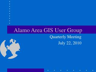 Alamo Area GIS User Group