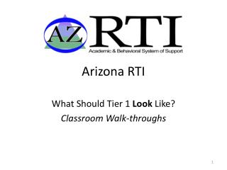 Arizona RTI