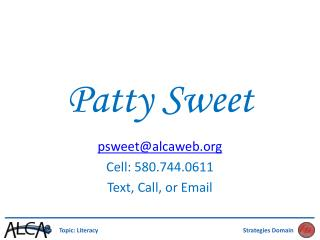 Patty Sweet