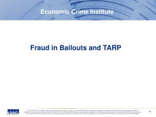Economic Crime Institute