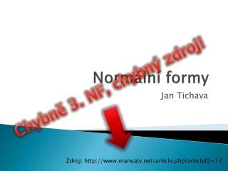 Normální formy