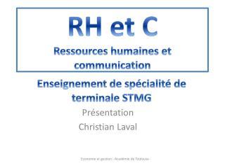 RH et C Ressources humaines et communication