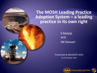 The MOSH Leading Practice Adoption System – a leading practice in its own right