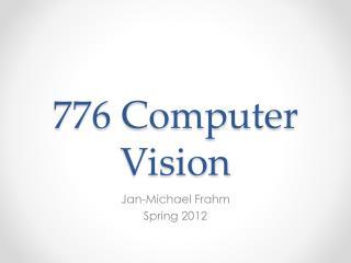 776 Computer Vision