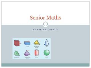 Senior Maths