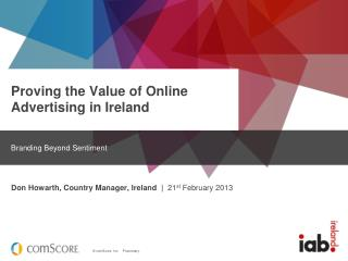 Proving the Value of Online Advertising in Ireland