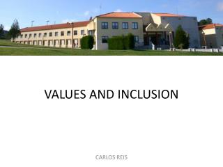 Values and inclusion