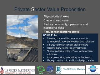 Private  S ector Value Proposition