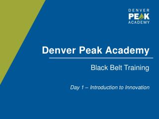 Denver Peak Academy