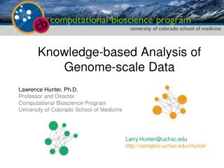 Knowledge-based Analysis of Genome-scale Data