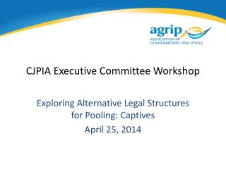 CJPIA Executive Committee Workshop