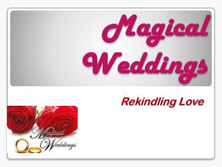 M agical Weddings