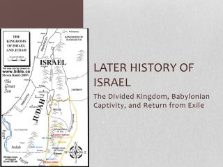 Later History of Israel