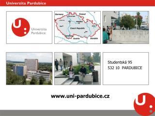 Studentská 95 532 10  PARDUBICE