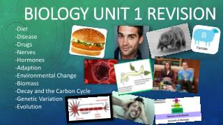 Biology Unit 1 Revision