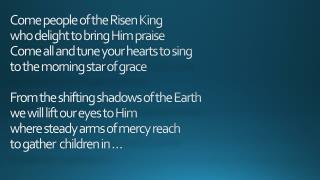 REJOICE  REJOICE Let  ev'ry  tongue rejoice One heart One voice Oh Church of Christ rejoice